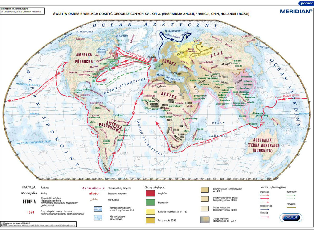 Ekspansja Anglii Francji Chin Holandii i Rosji