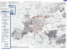 Europa w XIV i połowie XV wieku - ćwiczenia