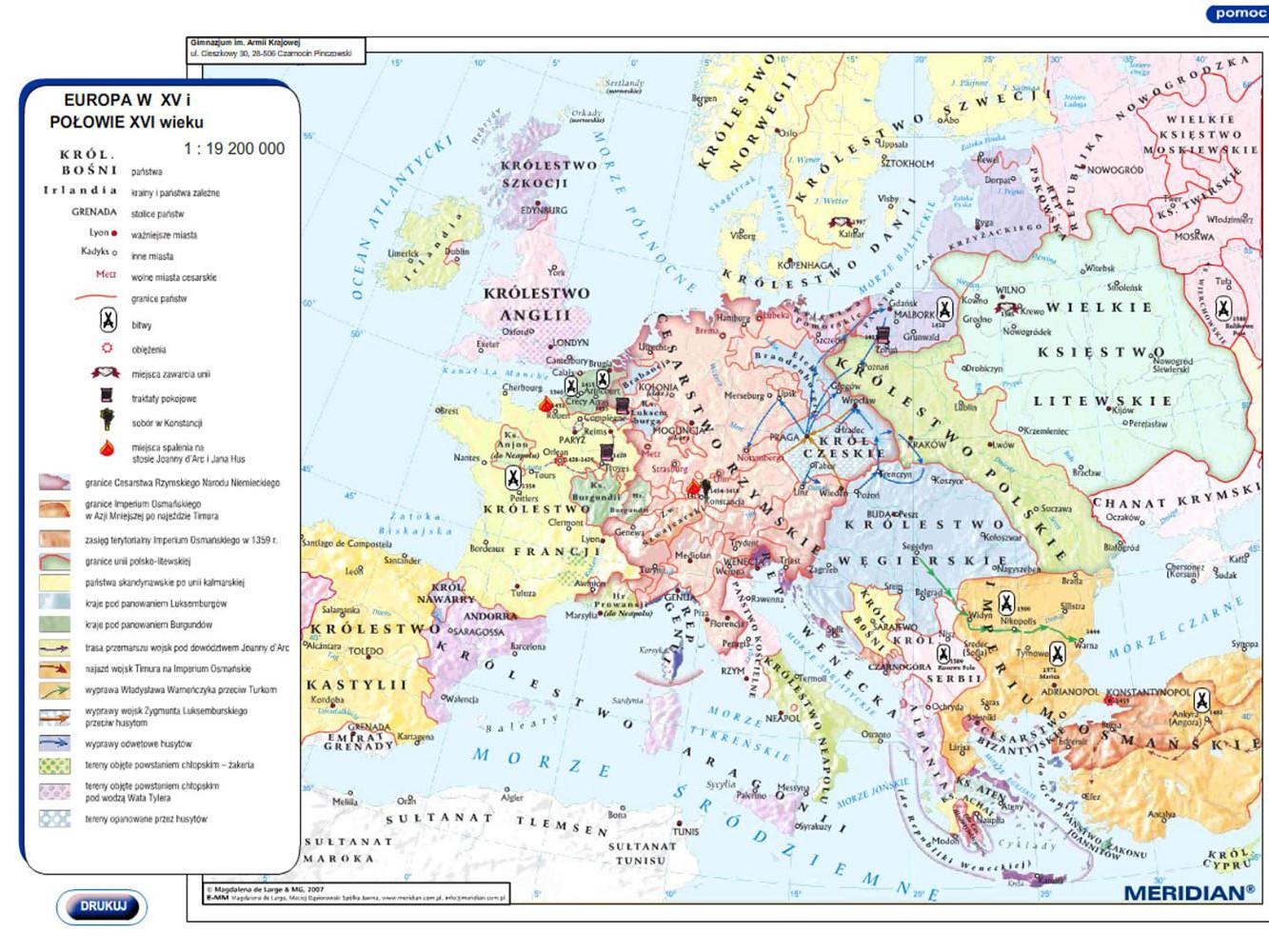 Europa w XIV i połowie XV wieku