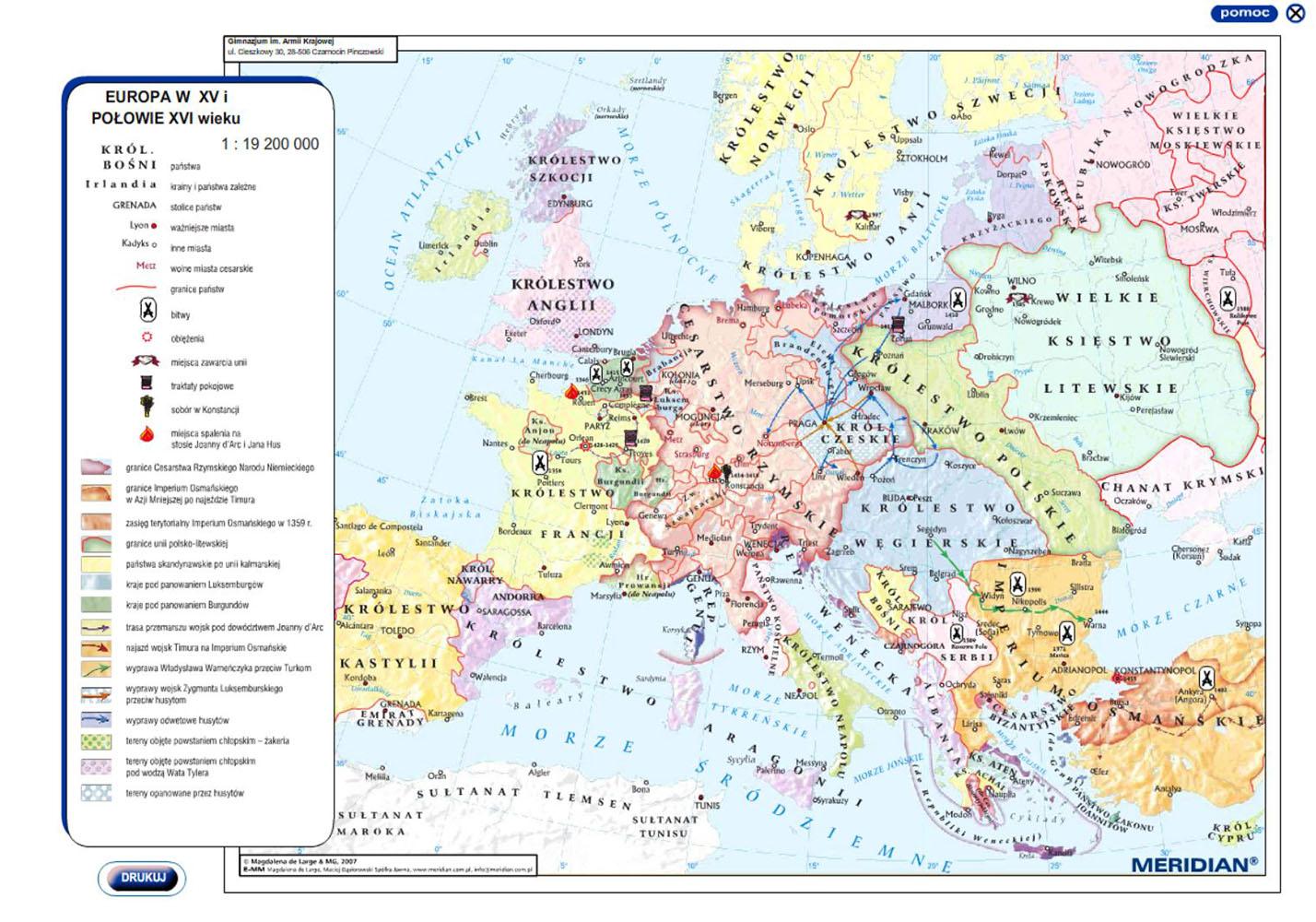 Nowozytnosc Oraz Xix Wiek Multimedialne Atlasy Historyczne