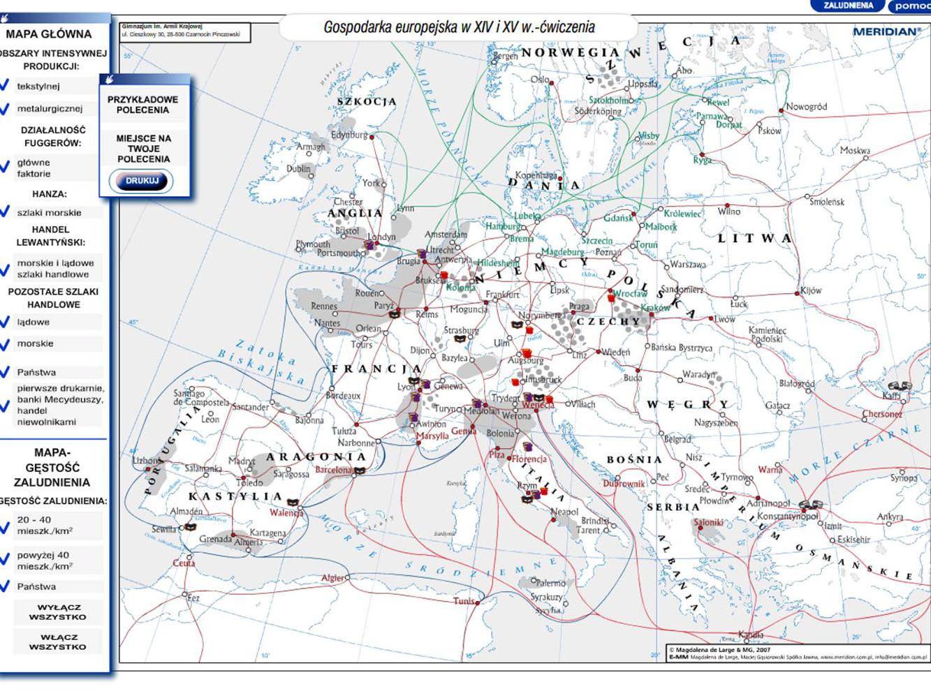 Gospodarka europejska w XIV i XV w