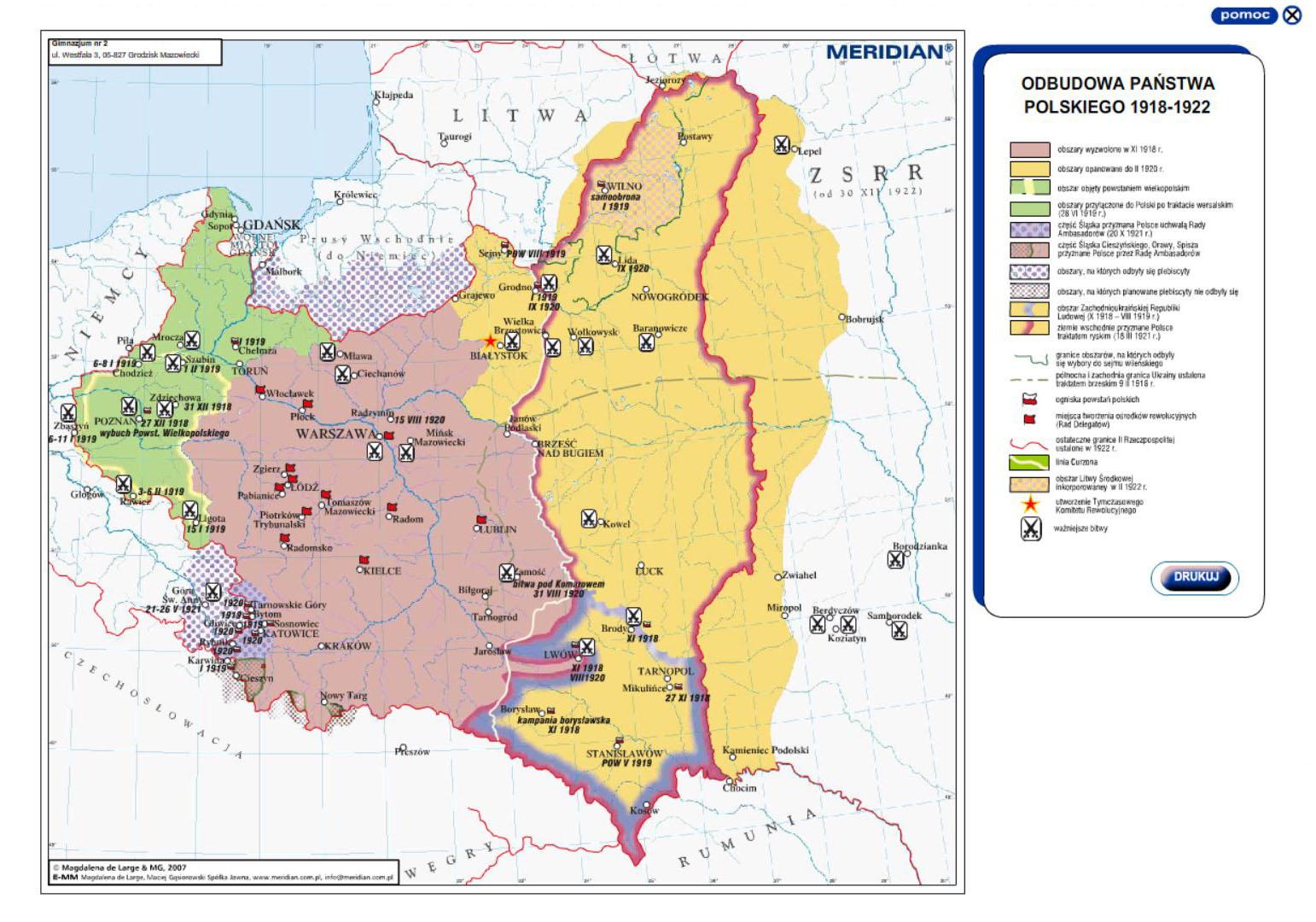 Historia Najnowsza Xx Wiek Multimedialne Atlasy Historyczne