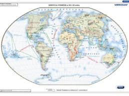 Odkrycia i podróże w XIX i XXw