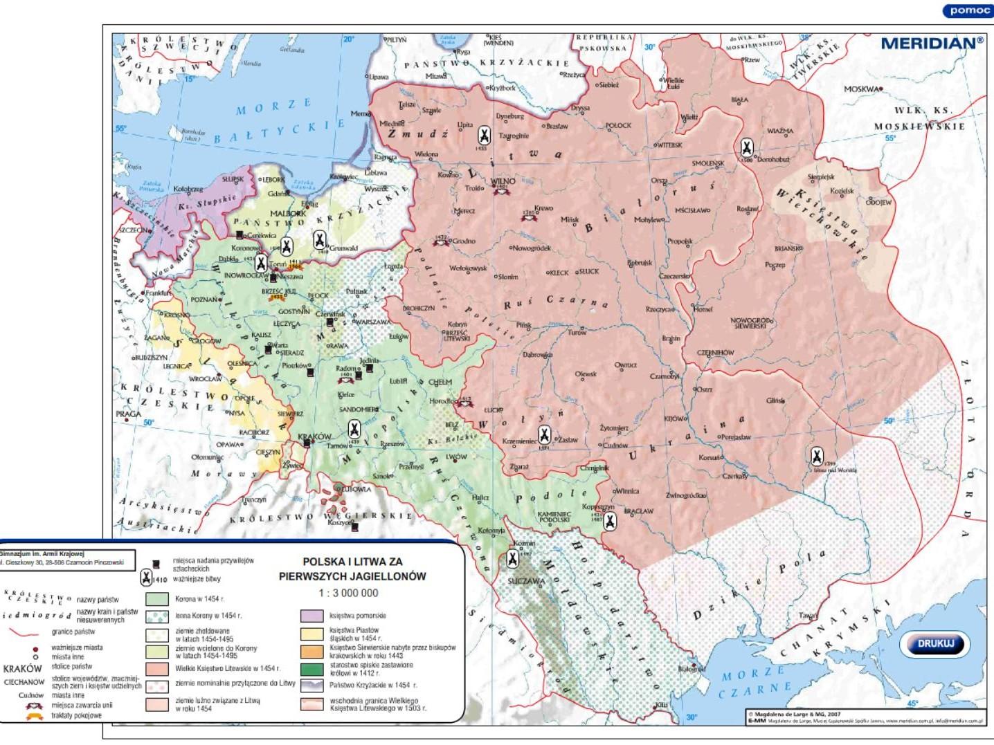 Polska i Litwa za pierwszych Jagiellonów