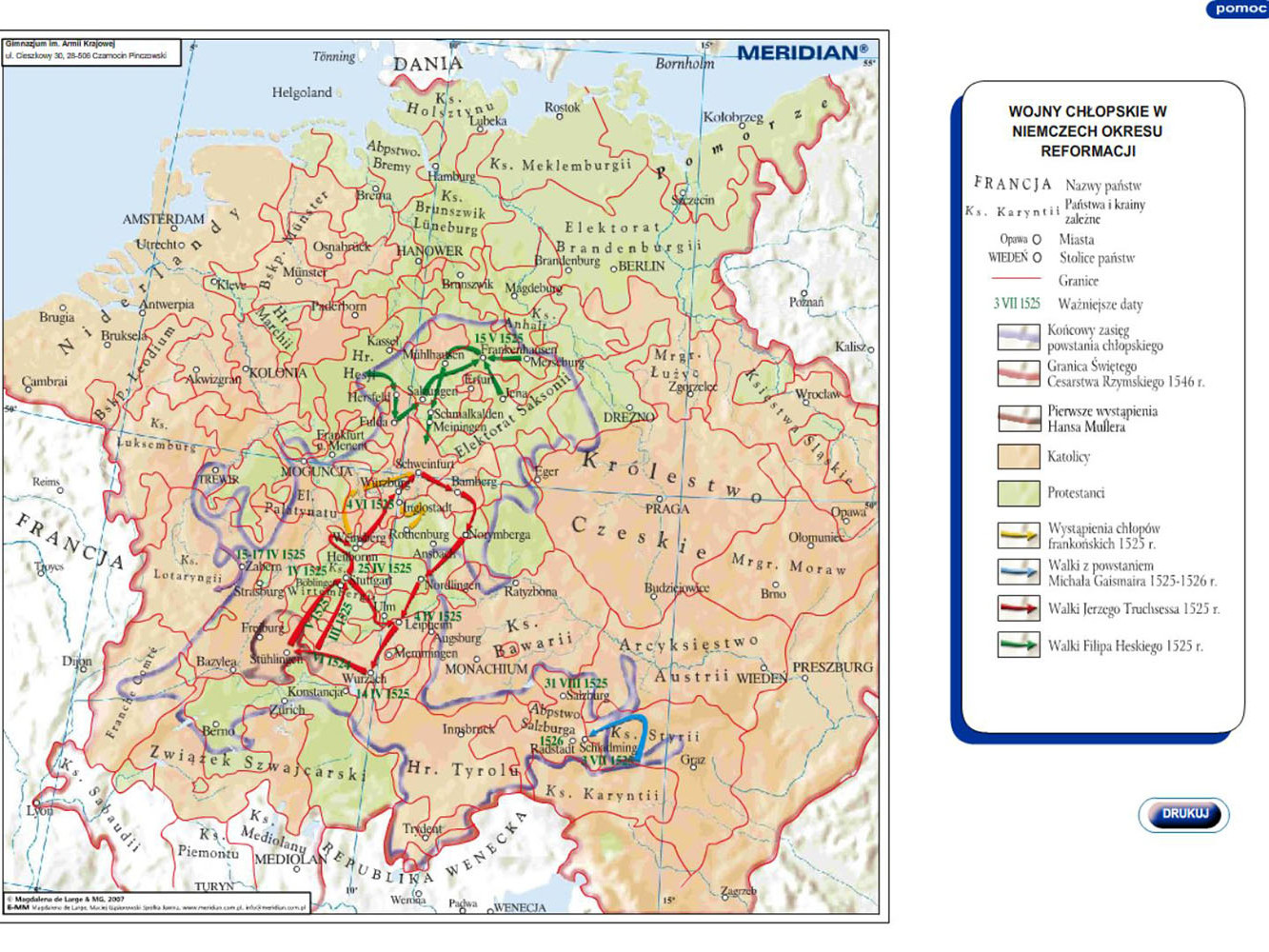 Wojny chłopskie w Niemczech okresu reformacji