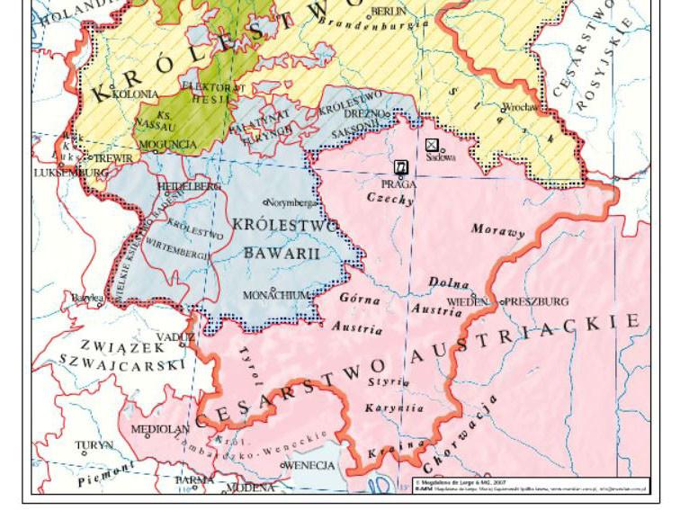 Zjednoczenie Niemiec w XIXw